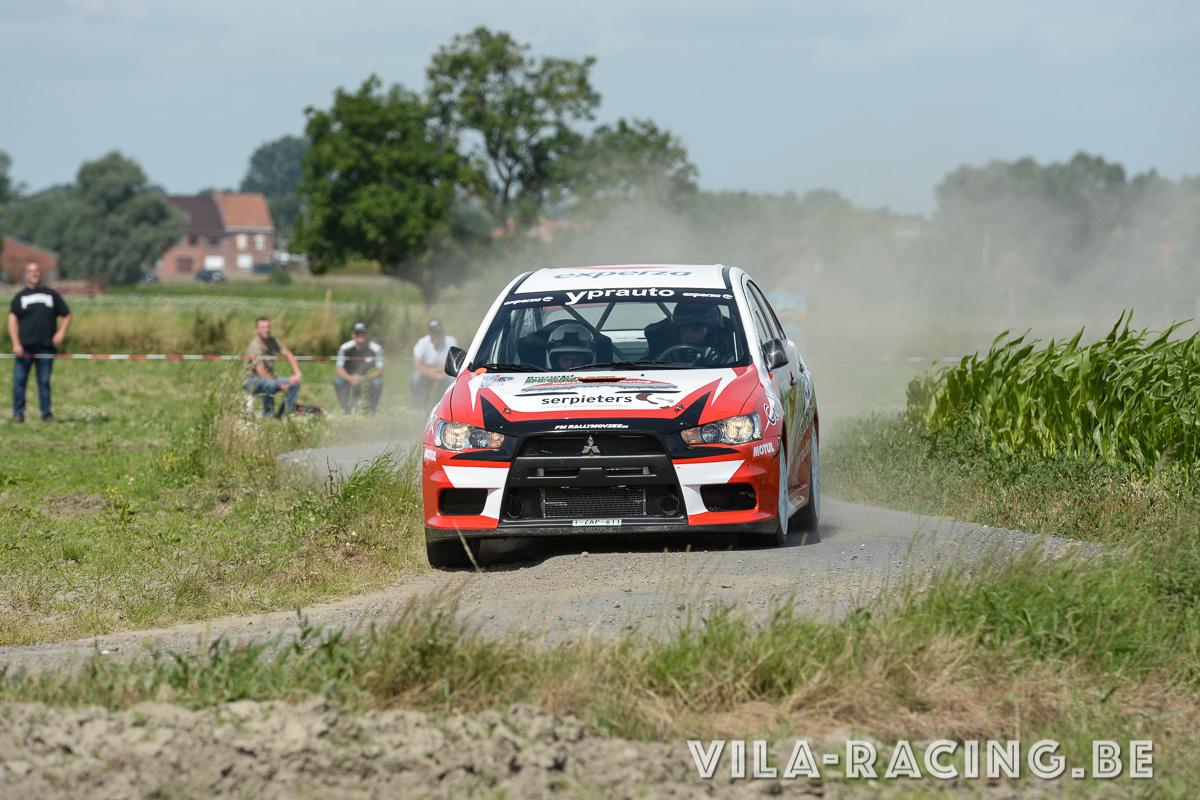 Andy Lefevere wint bewogen TBR Rallysprint 2016