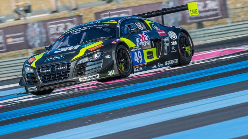 Drivex-Audi R8 LMS Ultra verovert nipt pole position aan de Franse Rivièra