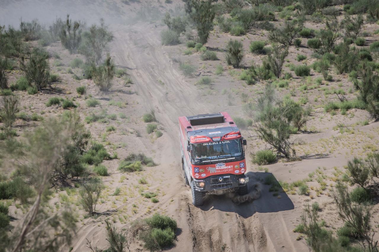 Meesterwerk monteurs Mammoet Rallysport