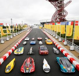 Wat haalt 25 km/u, is gemaakt met een 3D-printer en doet Londen-Rome-Londen met één liter brandstof?