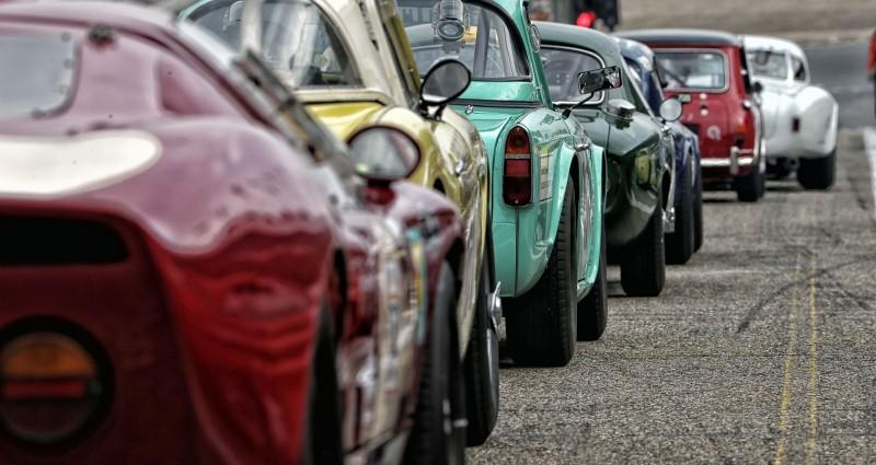 Historic Grand Prix Zandvoort opent Classic Car Parking op boulevard