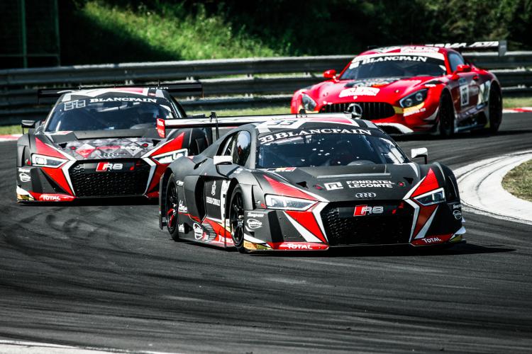 Succesvol weekend voor het Belgian Audi Club Team WRT, Ide en Mies weer aan de leiding!