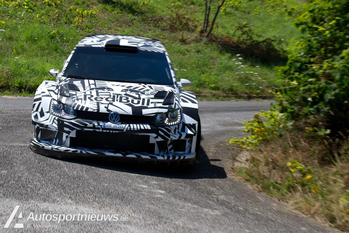 VW test Trittemheim 2017 VW Polo WRC