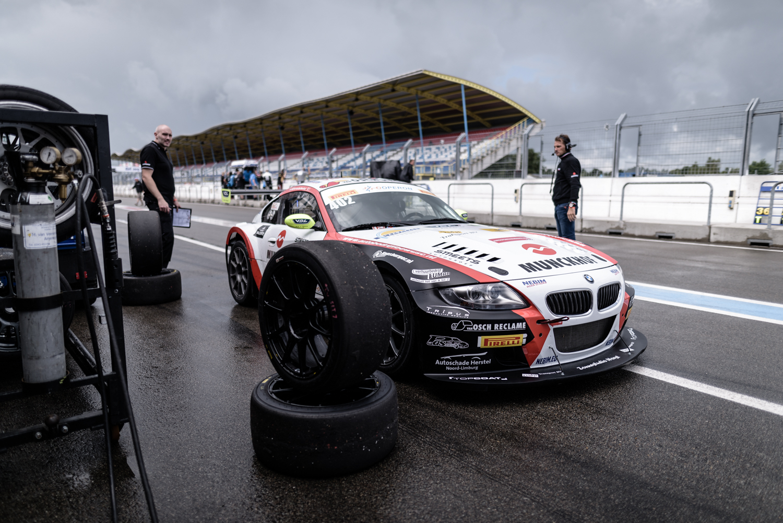Lastig weekend voor Van den Munckhof tijdens Gamma Racing Day