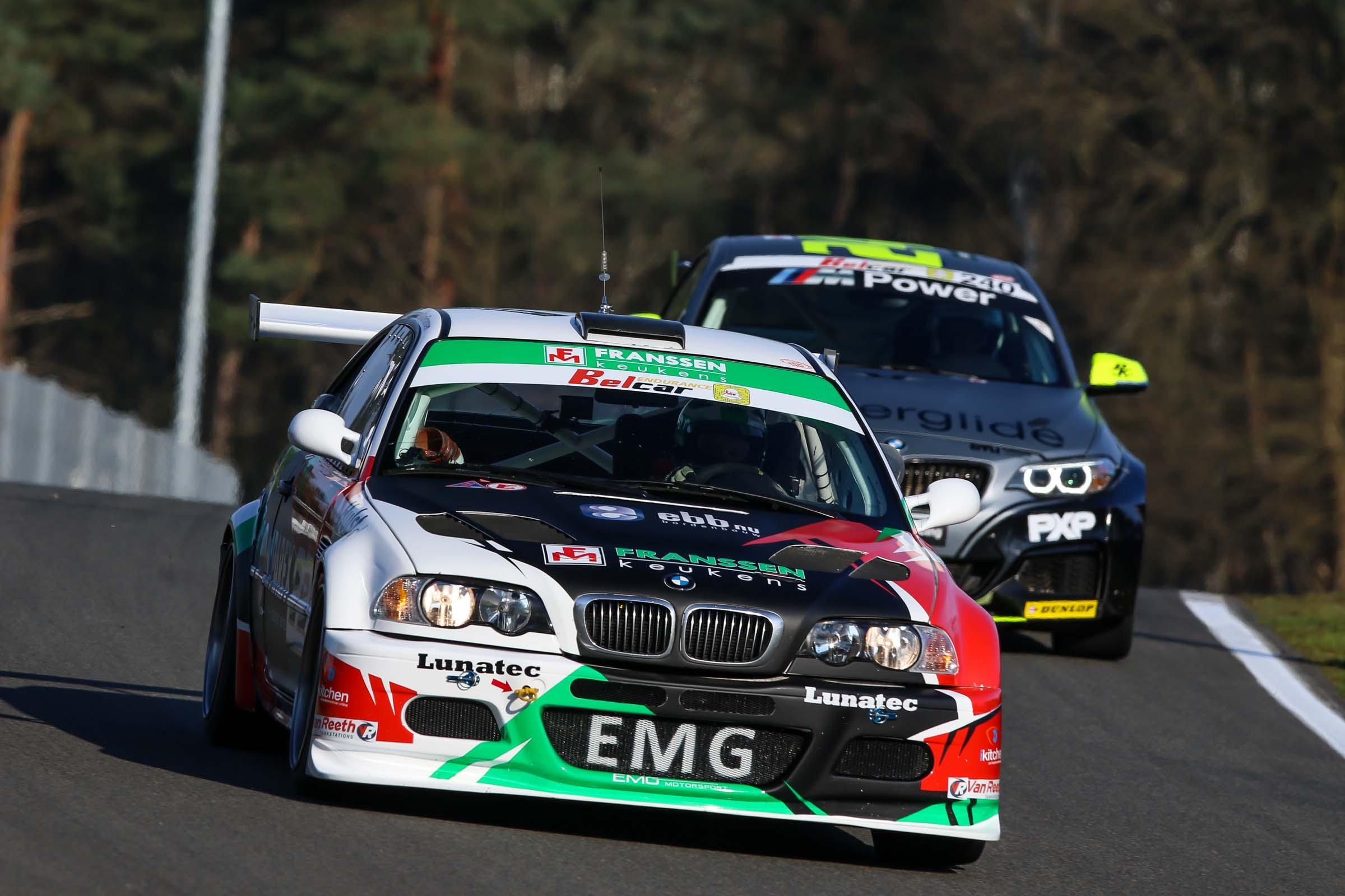 EMG Motorsport met 2 wagens naar 24 Hours of Zolder