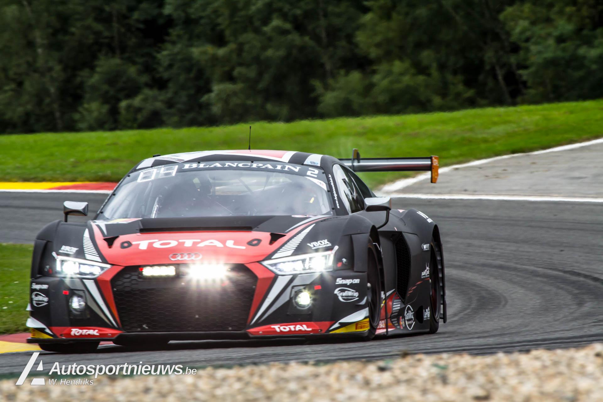 Total 24H Spa : zesde opeenvolgende podium en derde Beker van de Koning voor Audi en WRT!