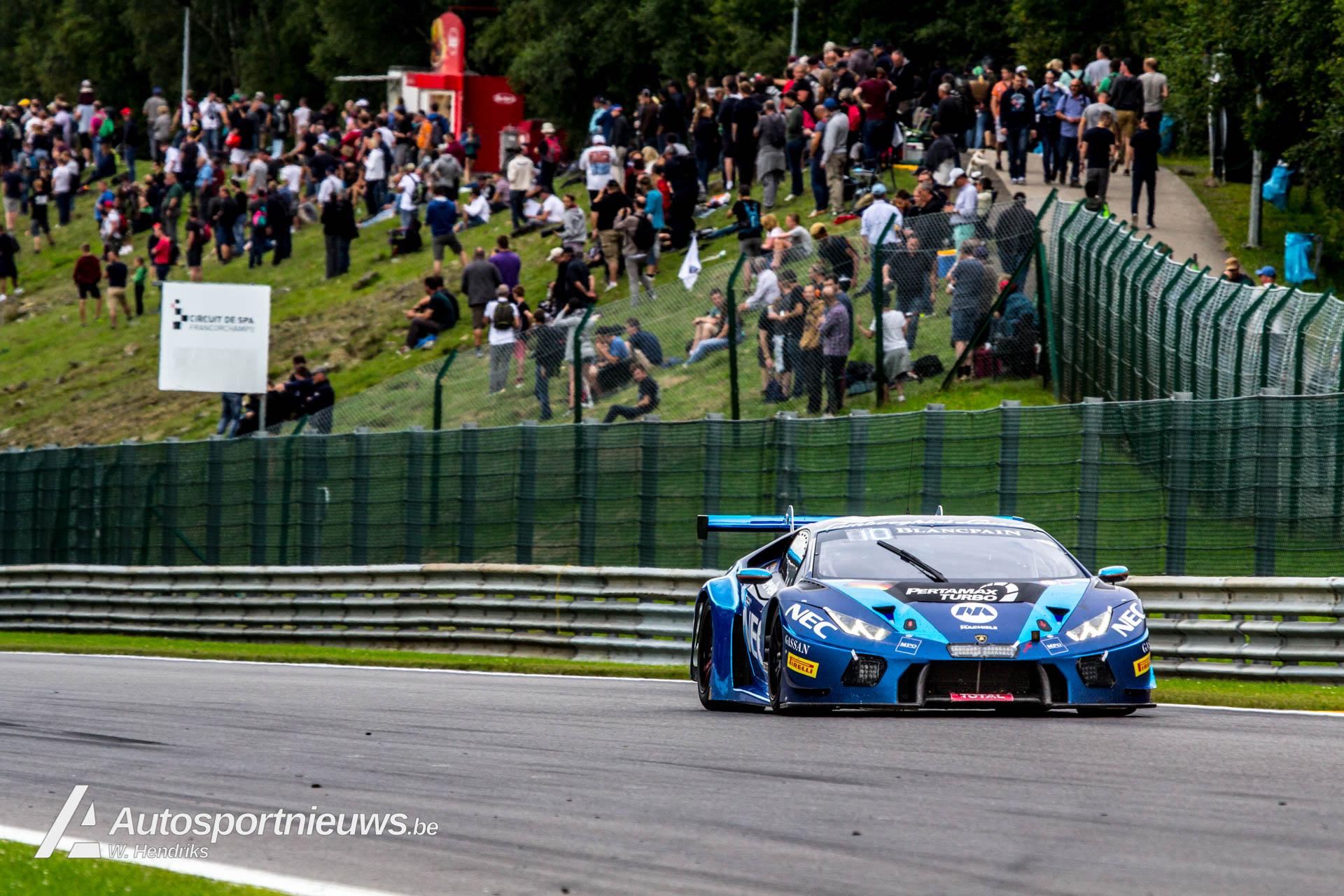 24 uur van Spa heftigste GT race ter wereld