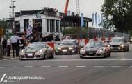 Christoff Corten pakt podium in GT-klasse van de 24 Hours of Zolder
