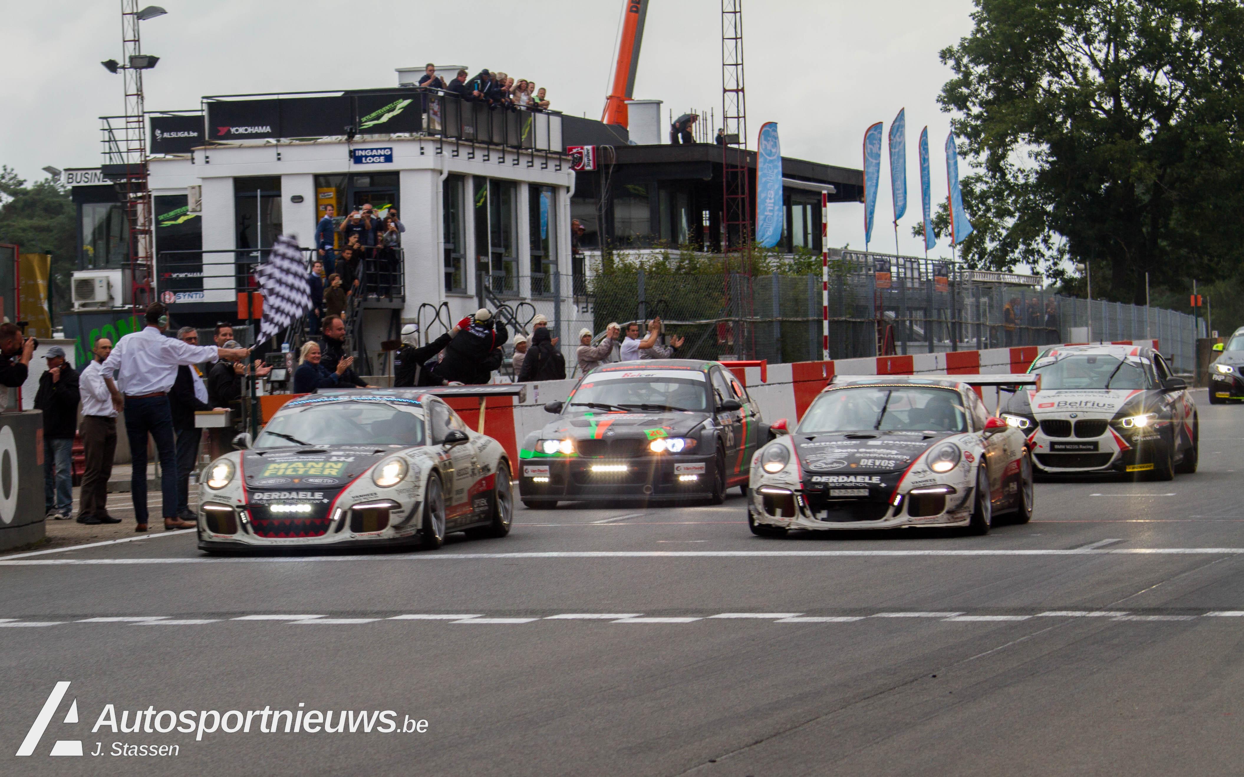 Vier op een rij voor Belgium Racing
