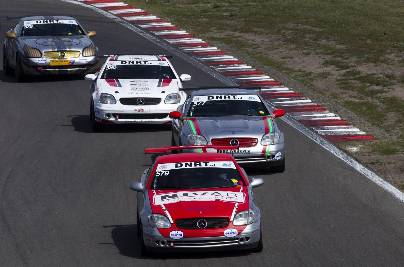 Eerste endurance race voor Mercedes-Benz SLK cup
