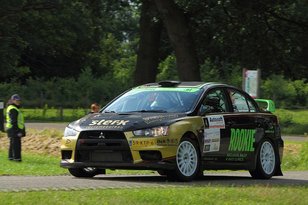 Rookie Rally Team meet zich met the best of the best