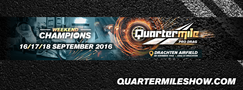 16/18 september: Quartermile Dragraces Weekend of Champions en BugFest op Airfield Drachten