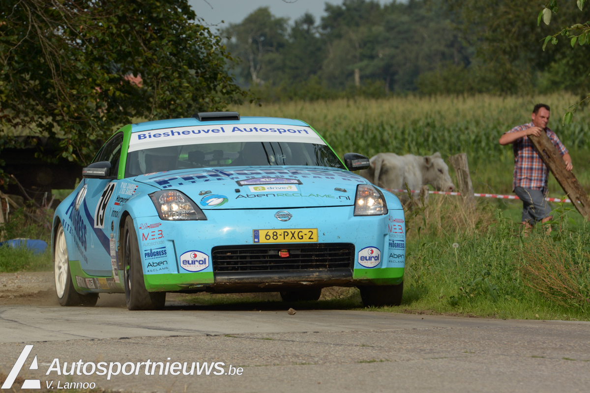 VDZ Racing ter voorbereiding op titel van start in Hellendoorn Rally