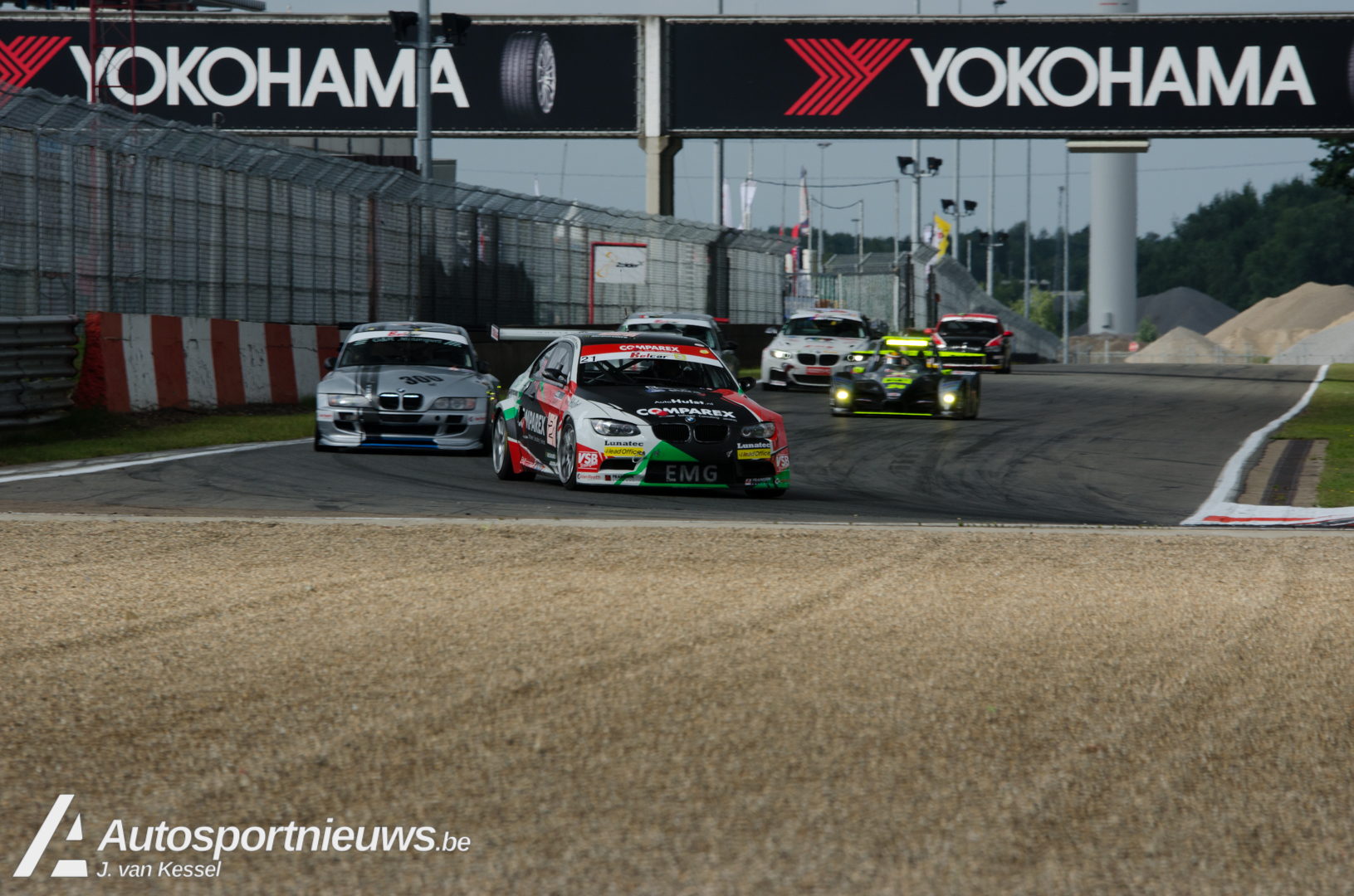 Podiumplaats voor EMG Motorsport in 24 Hours of Zolder