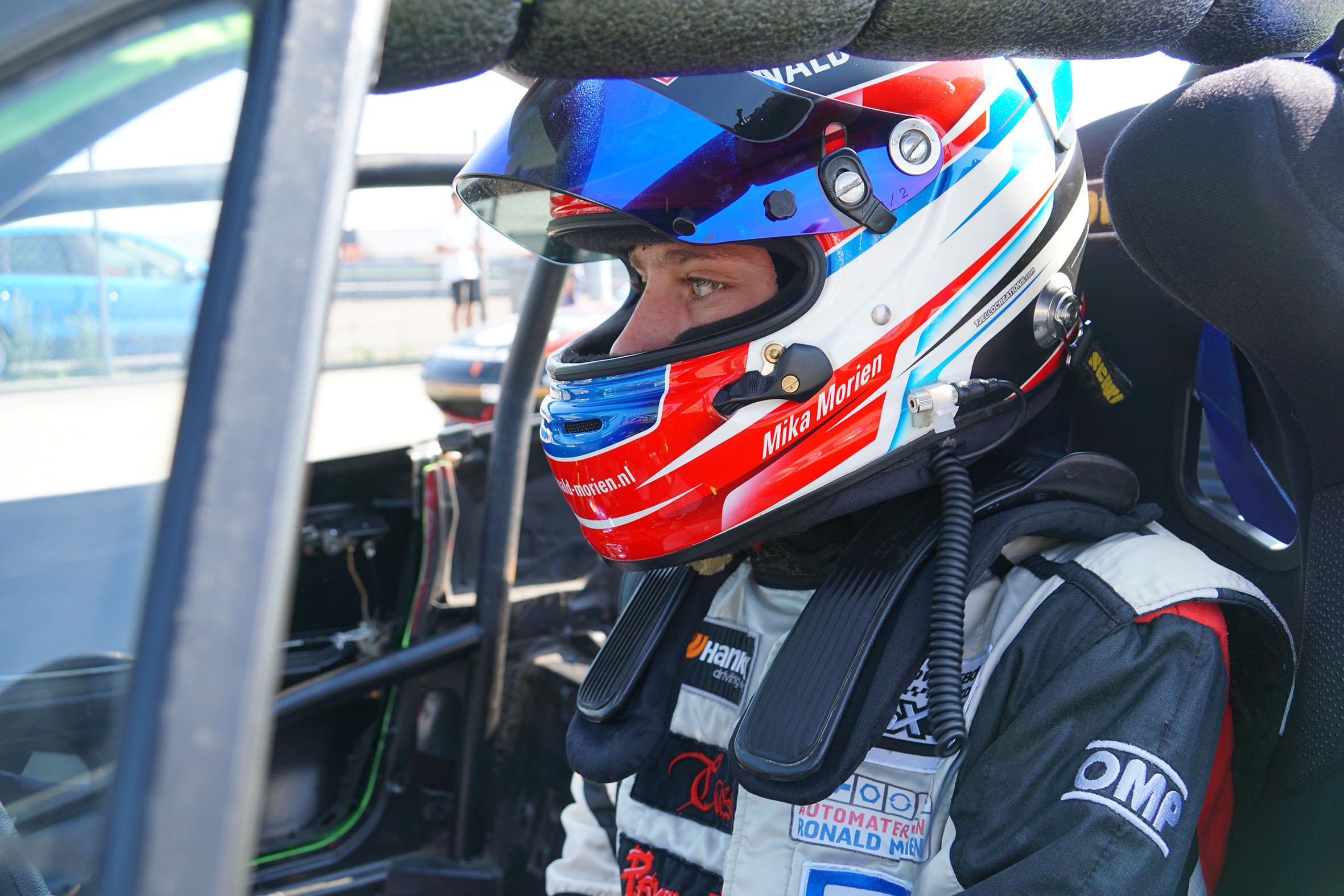 Mika Morien weer op topsnelheid op TT Circuit Assen in Mazda MaX5 Cup