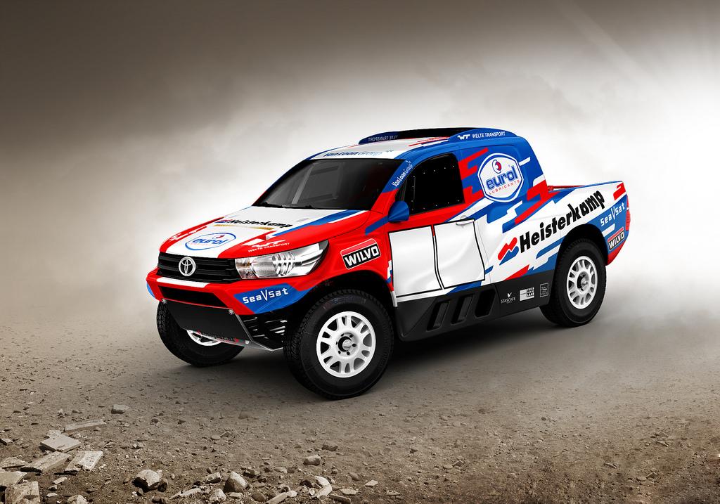Van Loon gaat met Toyota naar Dakar 2017!