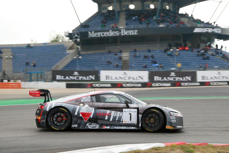 Het Belgian Audi Club Team WRT op een zucht van een nieuwe titel in het teamklassement