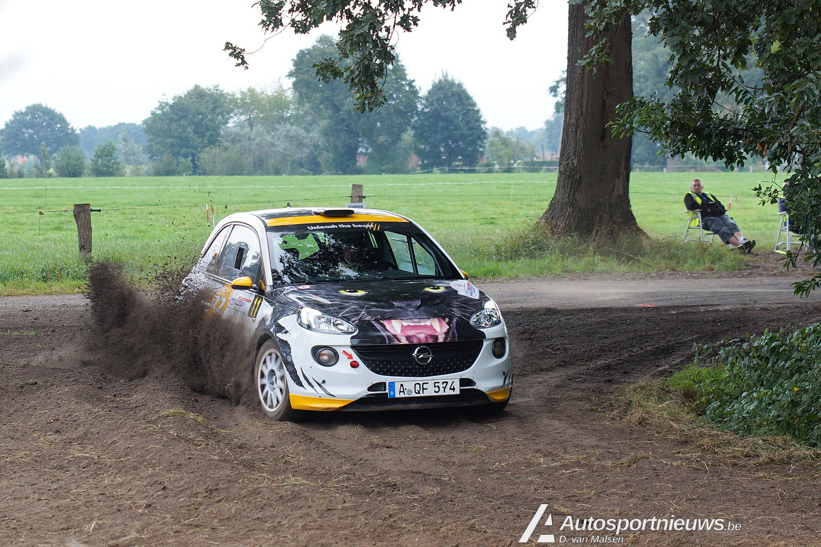 Kampioenschap in RC4-klasse: Timo van der Marel wint met Opel ADAM R2
