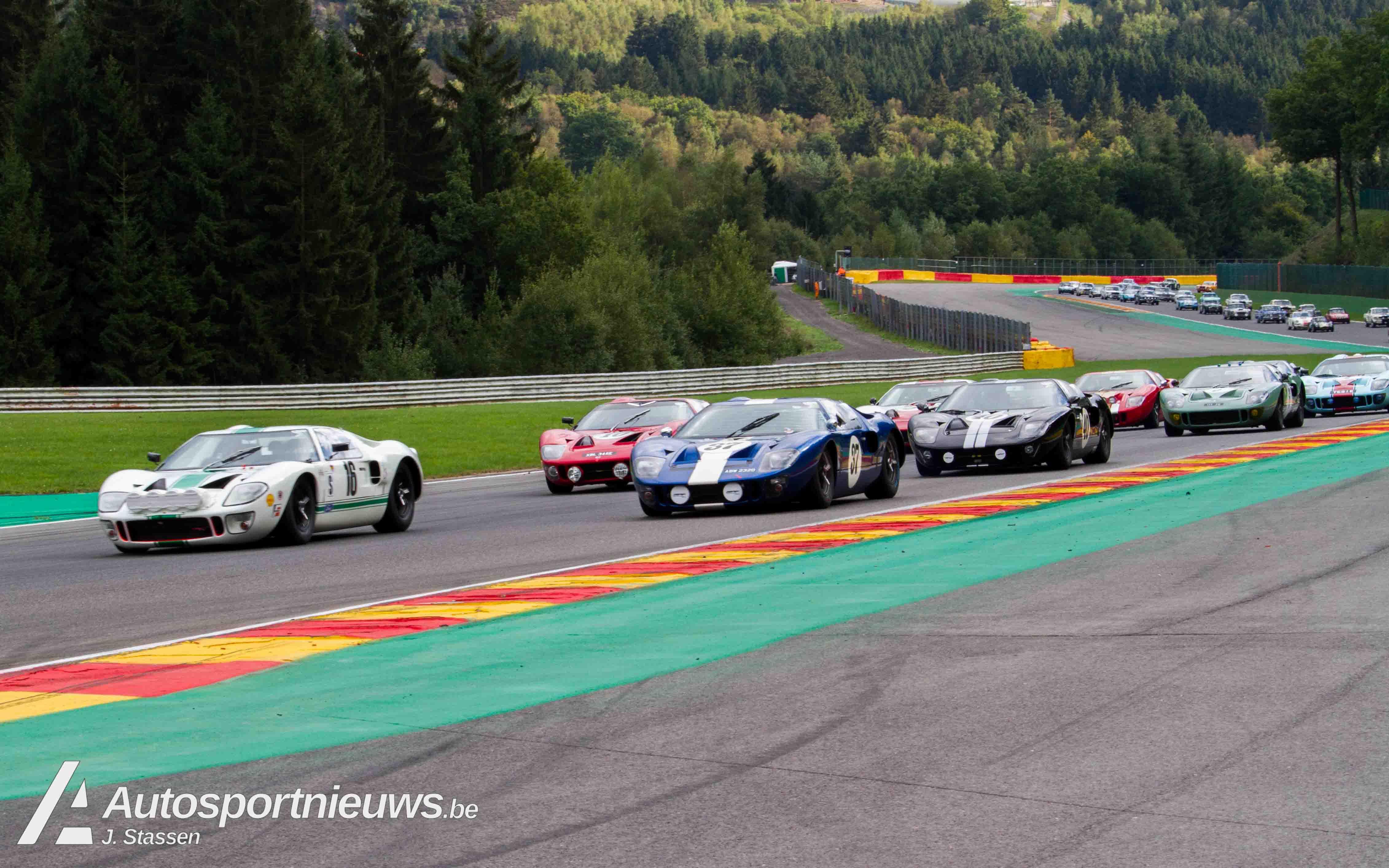 Sterren, spektakel… en een top 3 voor de Ford GT40