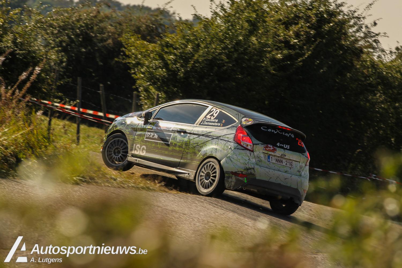 Polle Geusens domineert de East Belgian Rally