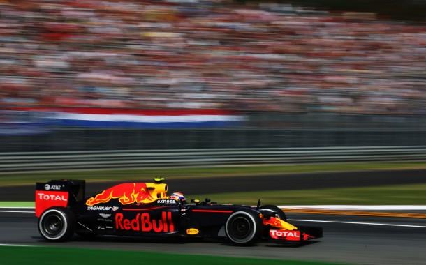 """Verstappen zevende in Monza: """"Hier mogen we blij mee zijn"""""""