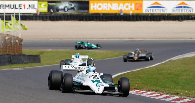 Zeer geslaagde tweede dag Historic Grand Prix Zandvoort