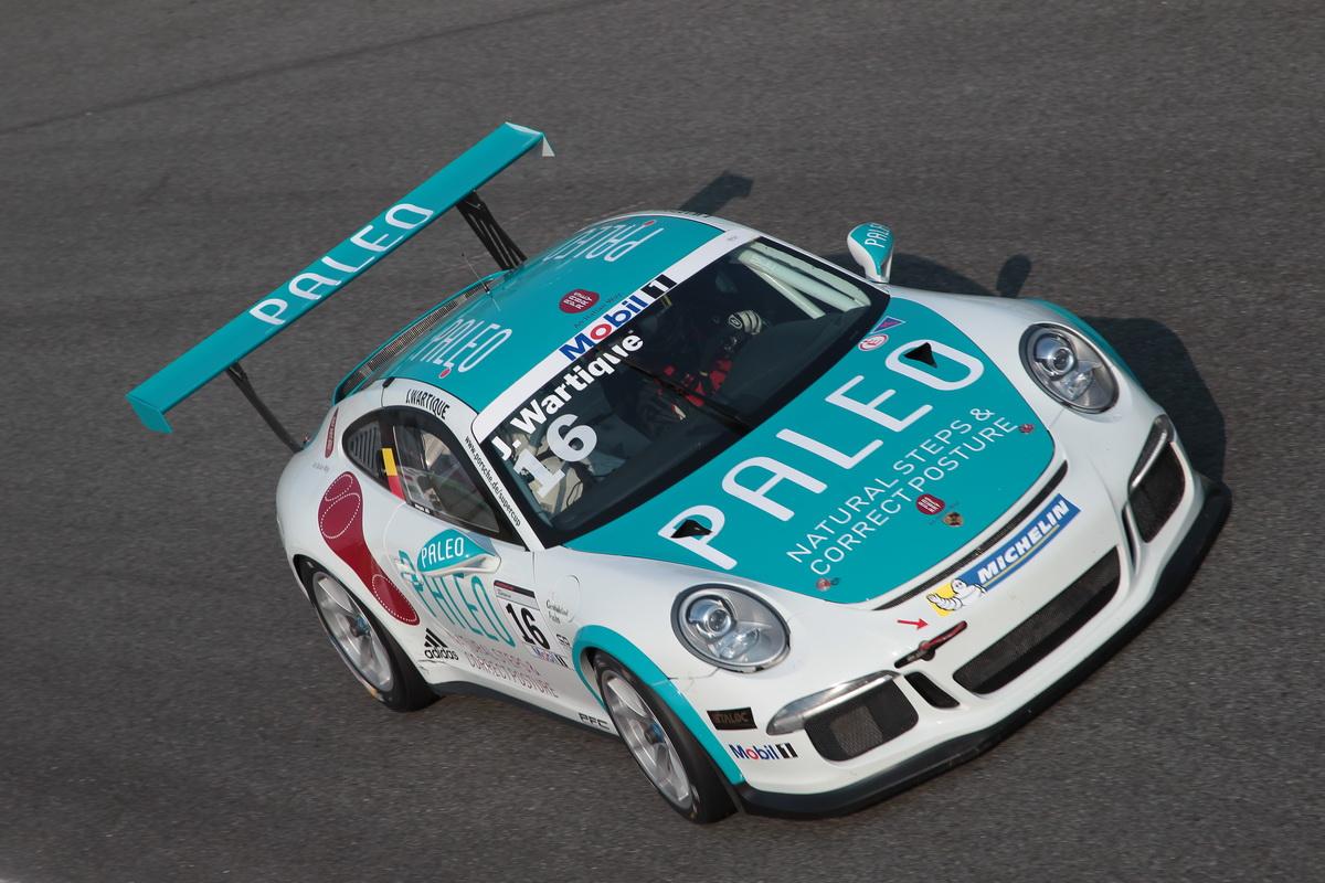Meer punten voor John Wartique in zijn derde race in de meest competitieve monomerkencup
