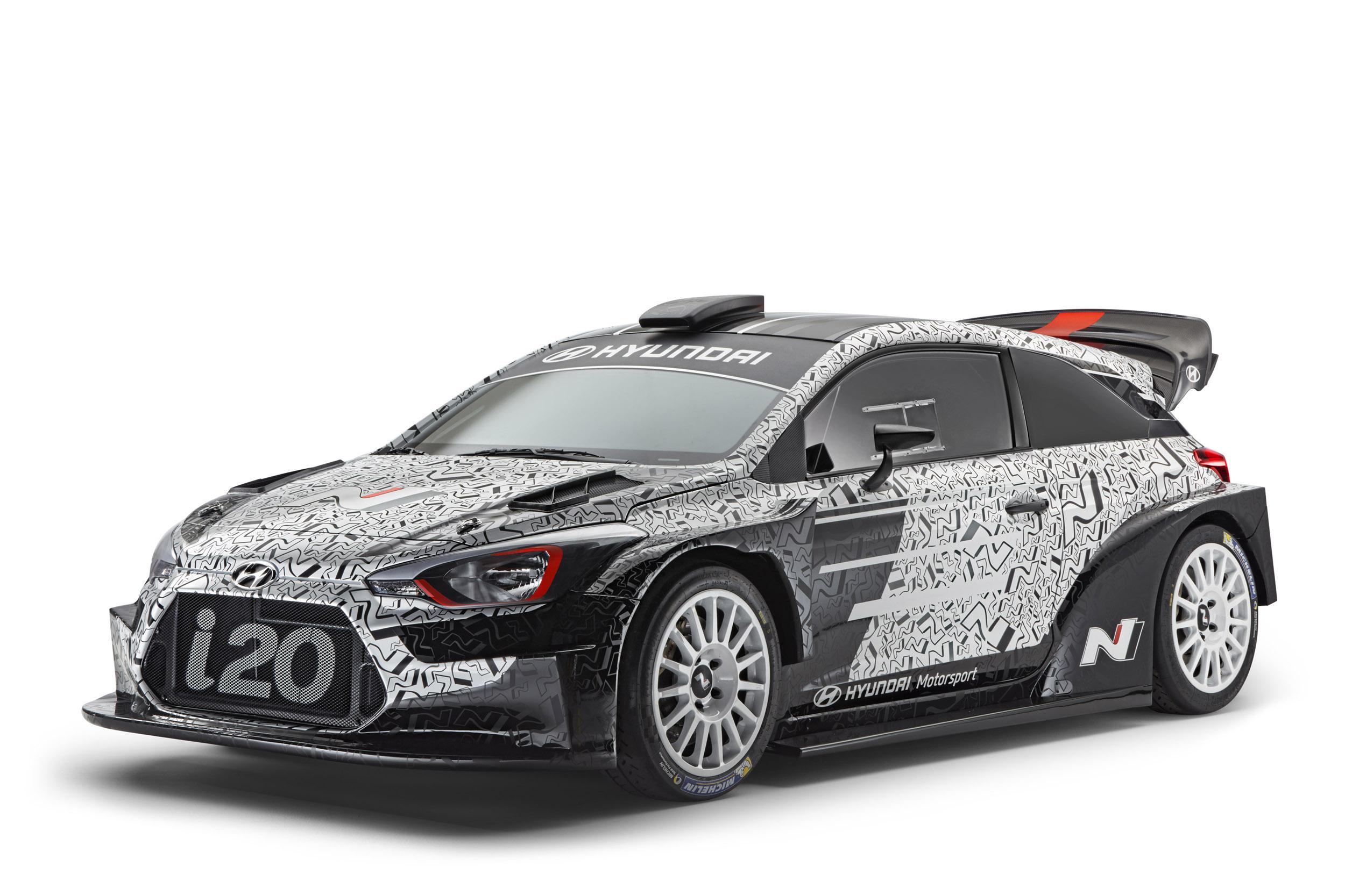Hyundai Motorsport presenteert hun preview op de nieuwe 2017 i20WRC op de Paris Motor Show
