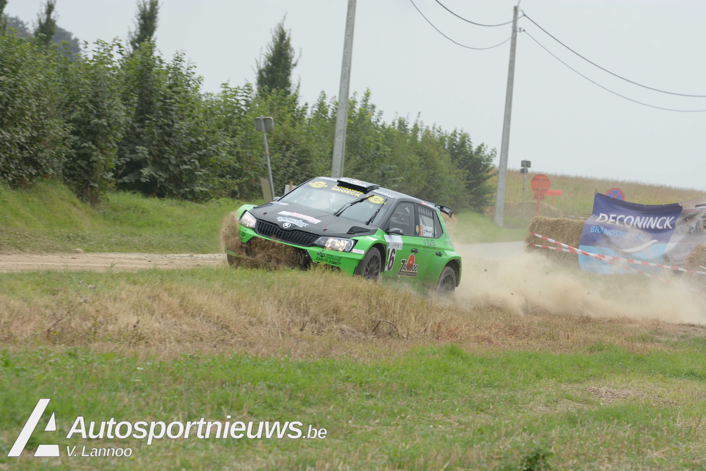 Vincent Verschueren met kokende motor naar zege in Aarova Rallysprint