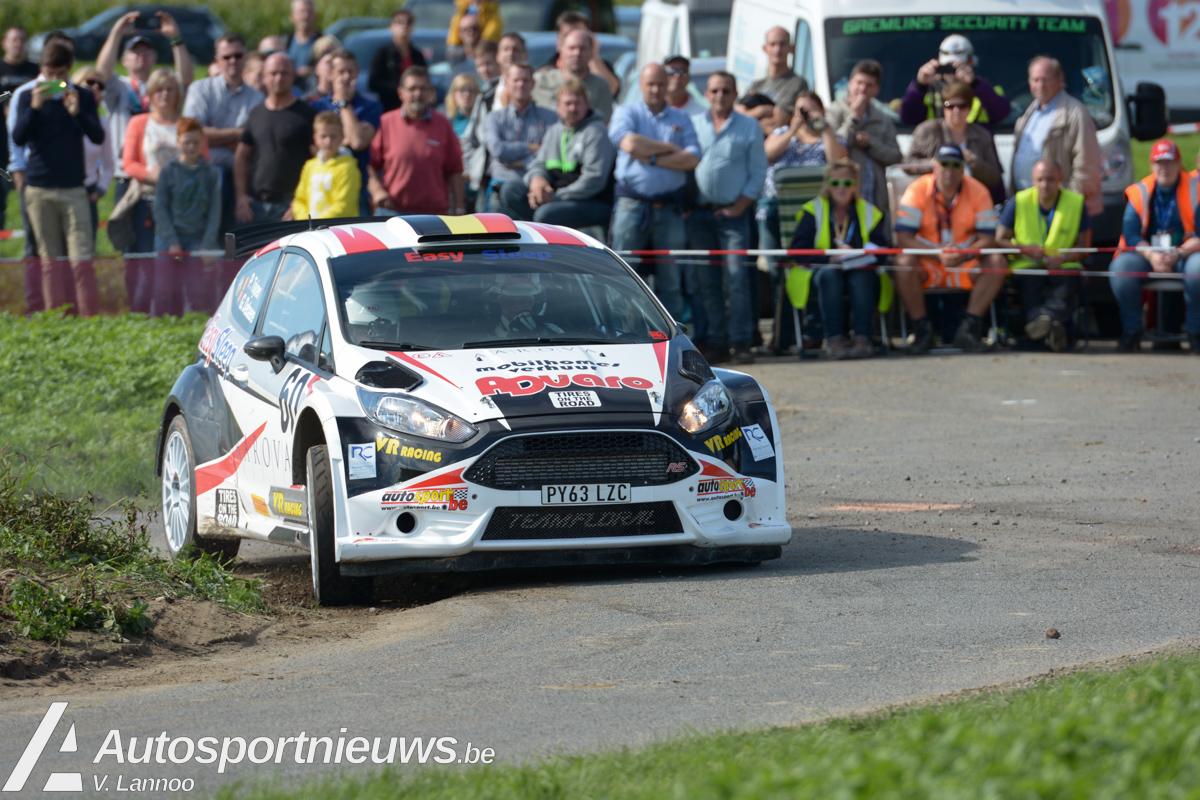 Knappe affiche, maar opnieuw met Tjsoen als favoriet - Aarova Rallysprint