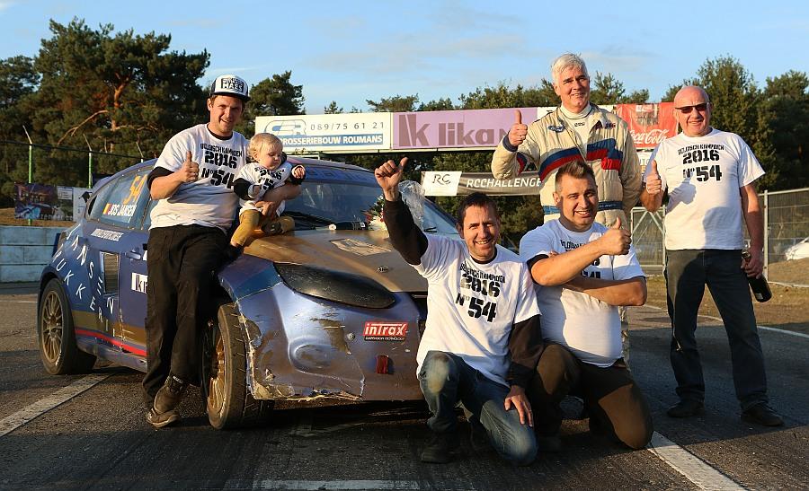 JJ Racing kroont zich voor de eerste maal tot Belgisch kampioen rallycross bij de Supercars!!