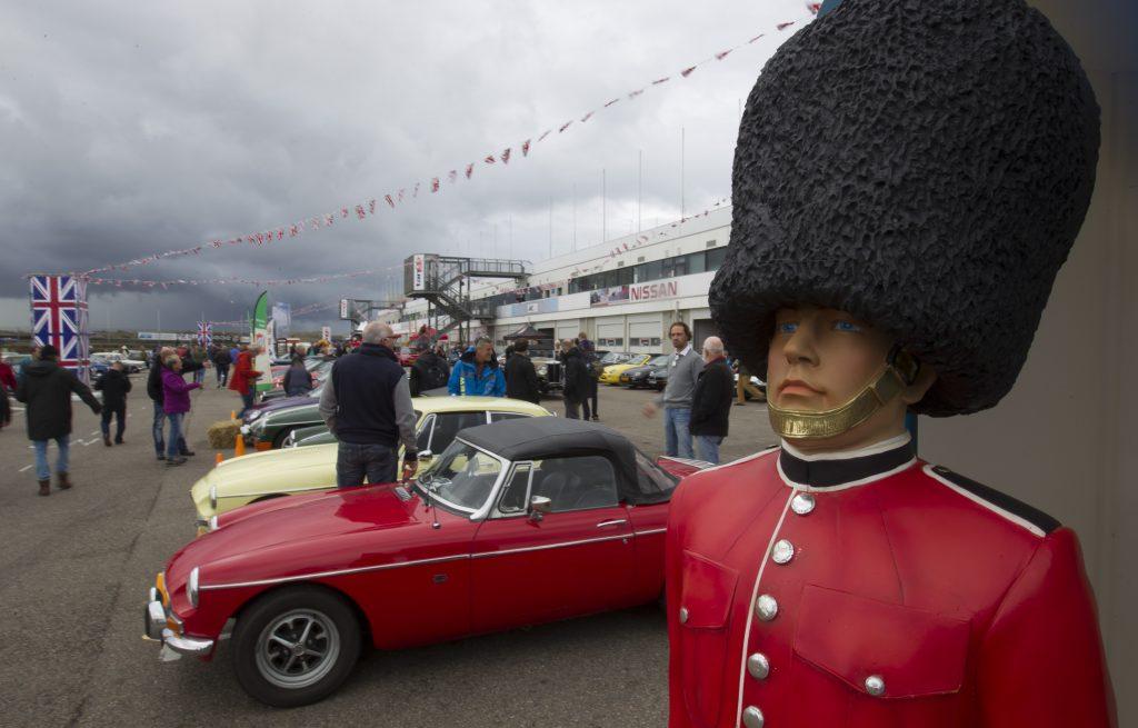British Race Festival sfeervol evenement