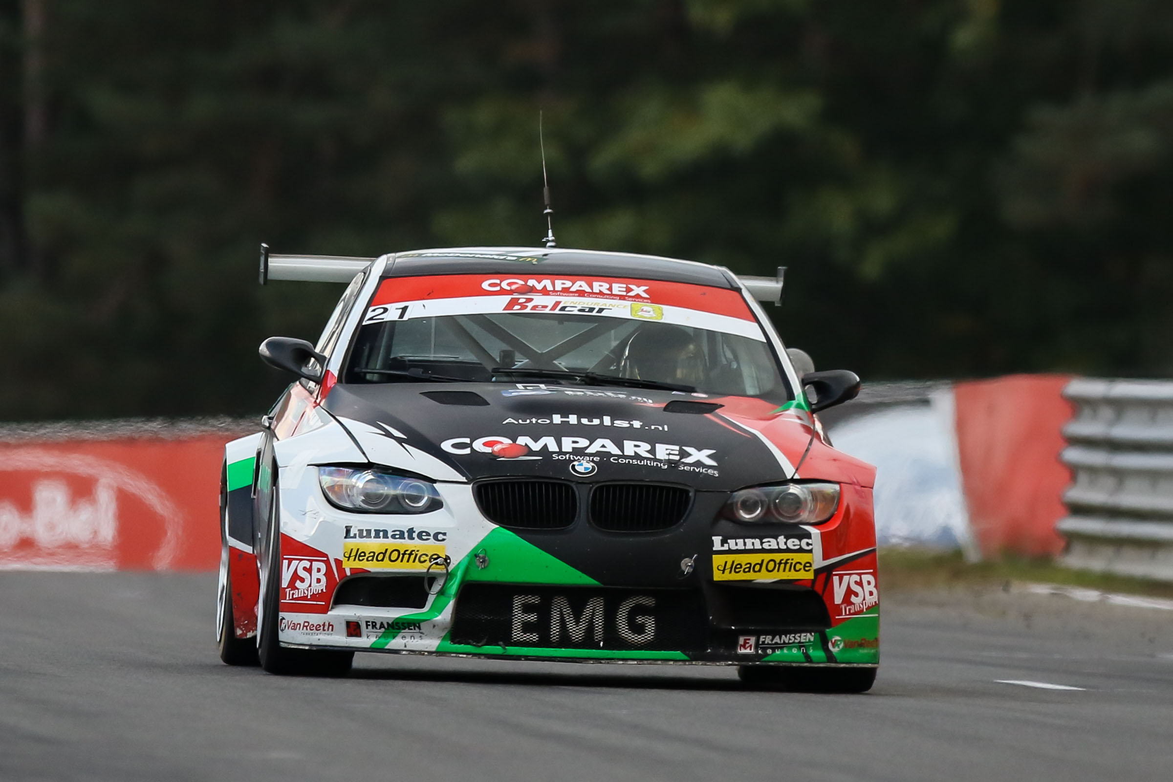 EMG Motorsport pakt titel in de klasse Belcar 4
