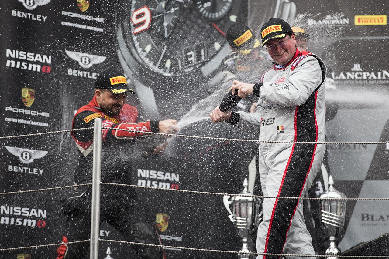 Kampioen Blancpain GT Sprint Cup Enzo Ide in ZOUTE GT SPRINT!