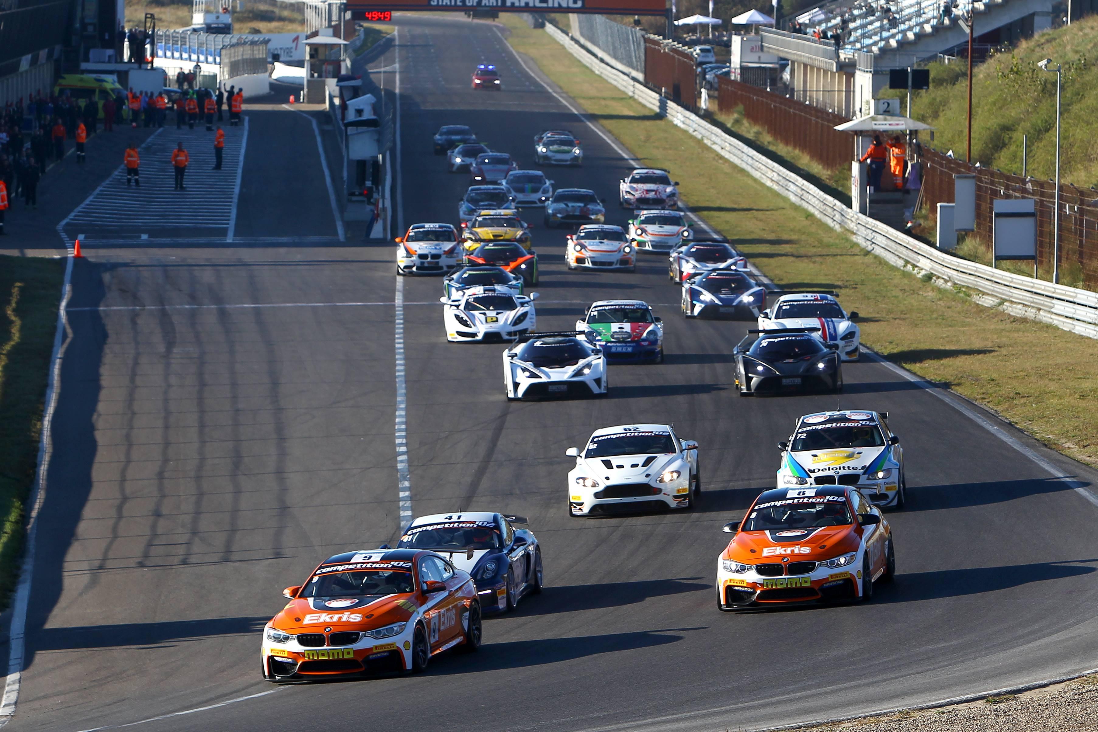 Mooie strijd om kampioenschapstitels tijdens Finaleraces op Circuit Park Zandvoort