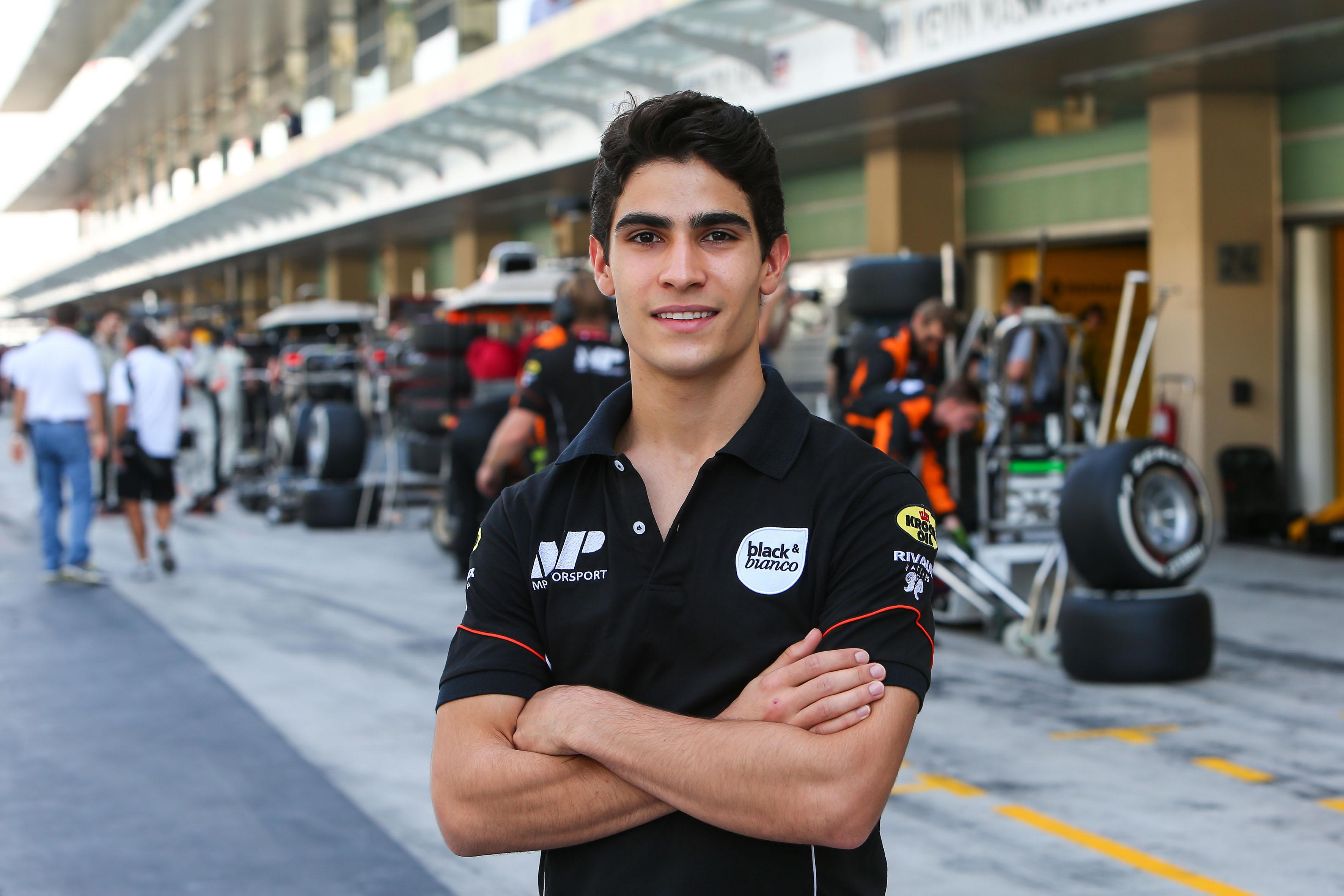Braziliaan Sergio Sette Camara promoveert in 2017 met MP Motorsport naar GP2