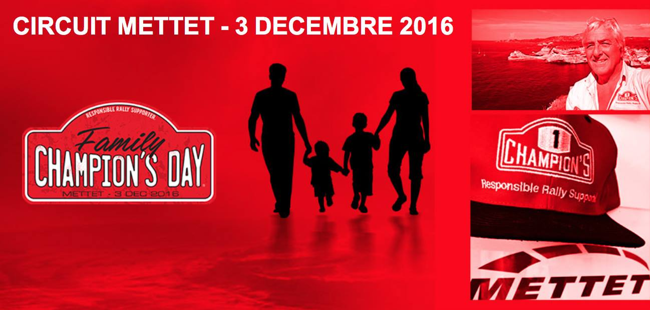 Family Chamion's Day, Circuit Mettet - 3 December 2016