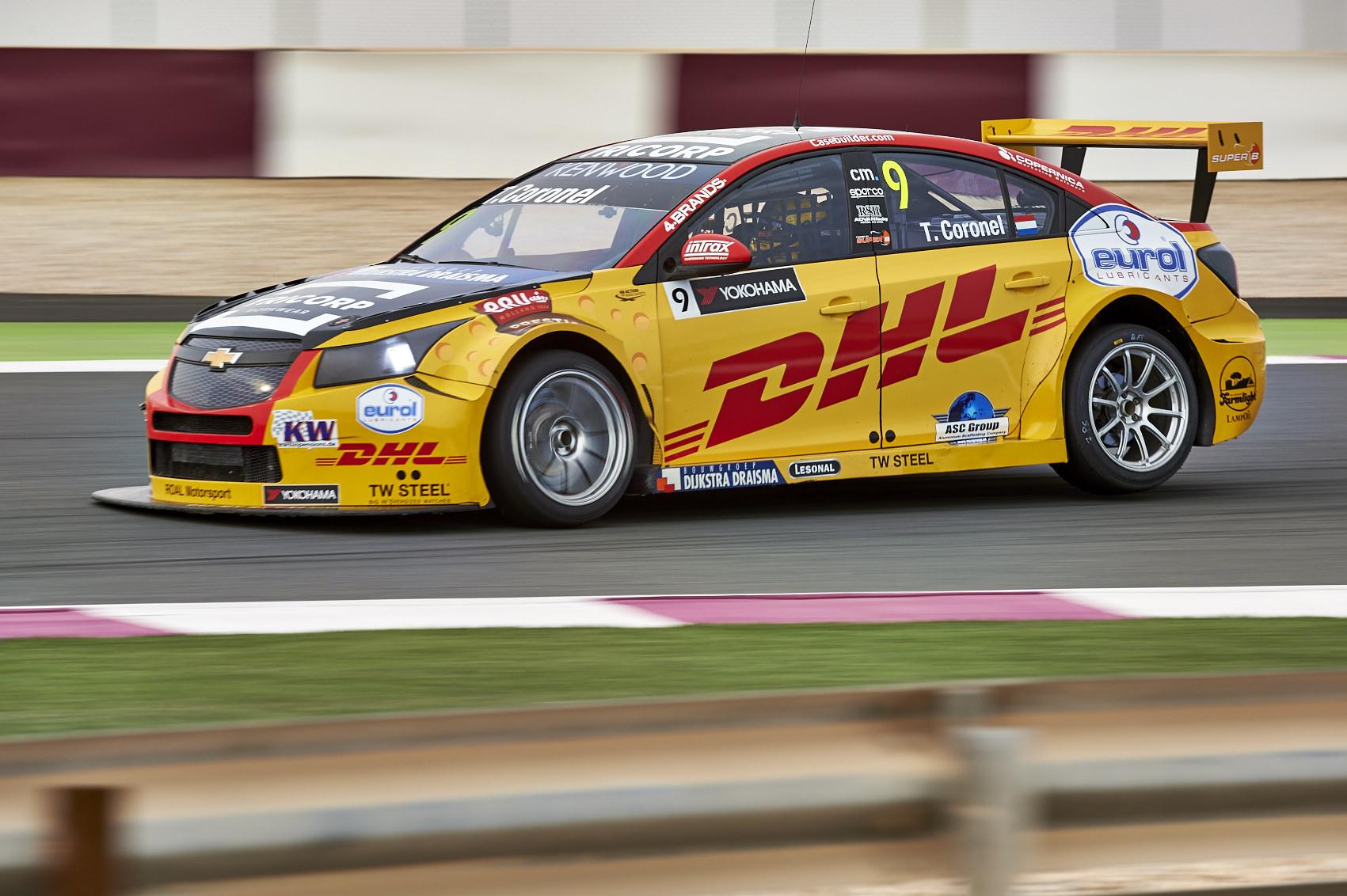 """Tom Coronel sluit """"beste FIA-WTCC-seizoen ooit"""" af met punten in Qatar"""
