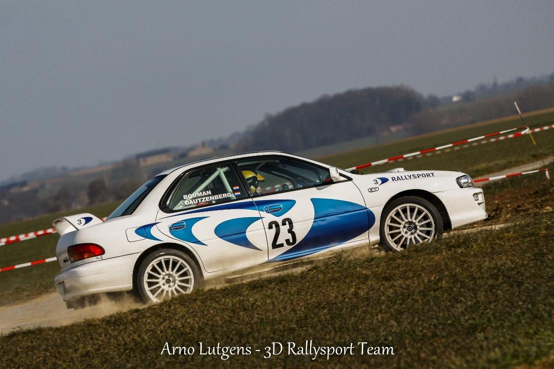 Het 3D rallysport team gaat ook van start in de Rally van Zuid Limburg.