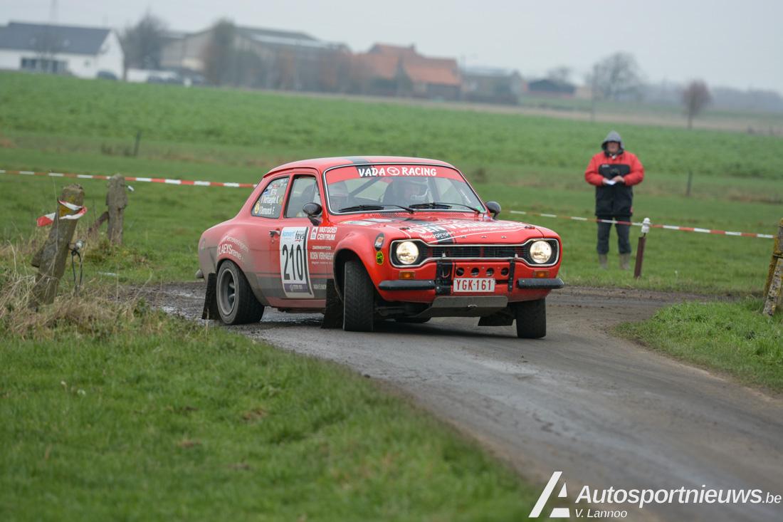 Ford Pinto Cup gaat komend weekend van start in Rallye de Hannut