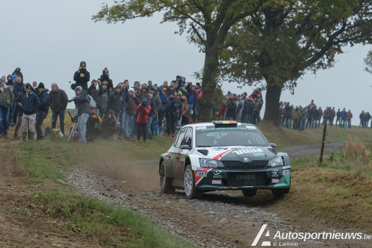 Belgian Rally Championship 2017  Beperkt aantal banden