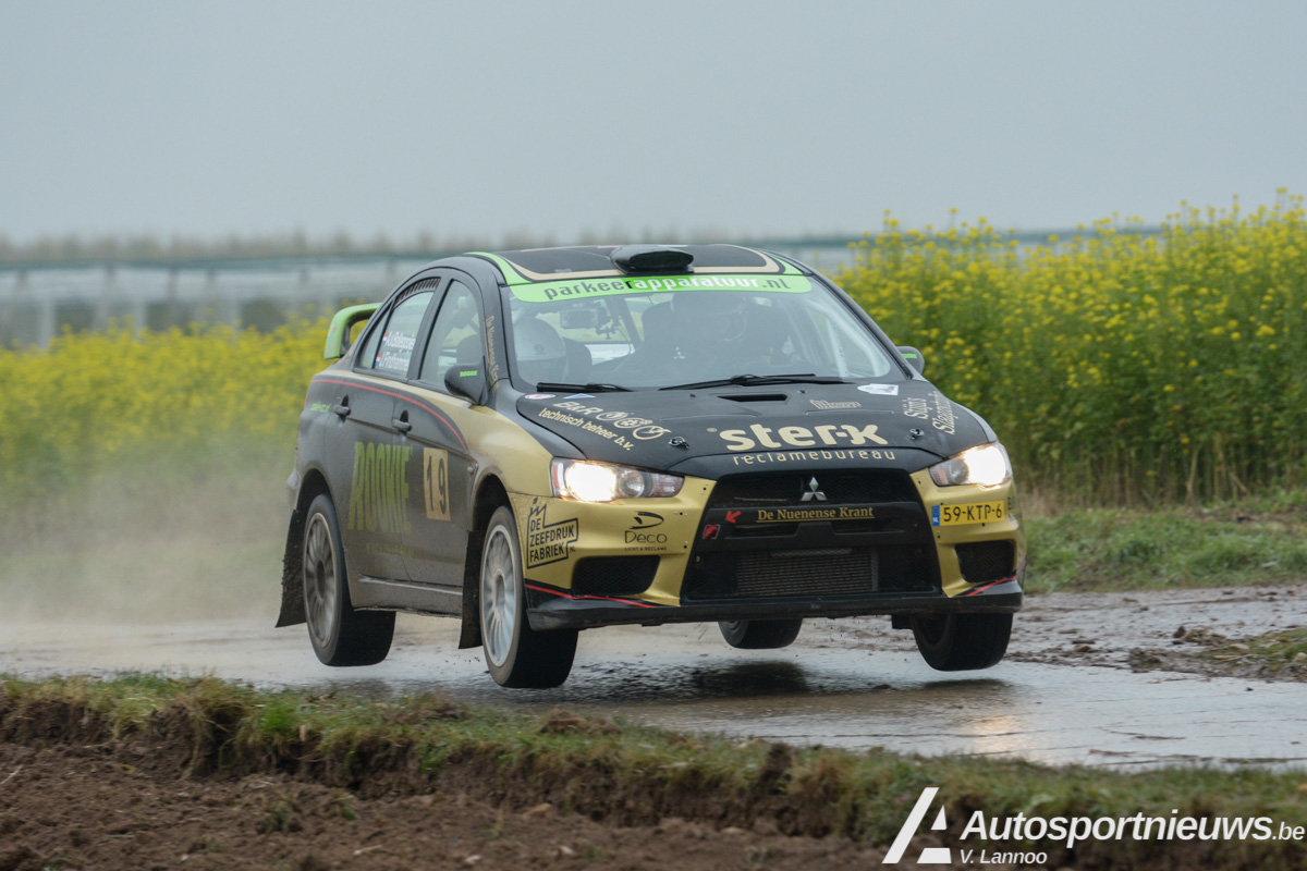 Rookie Rally Team glibbert naar 7de plaats in Rally van Zuid-LImburg