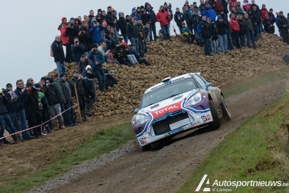 Craig Breen pakt de overwinning na de sortie van Cedric Cherain - Condroz Rally
