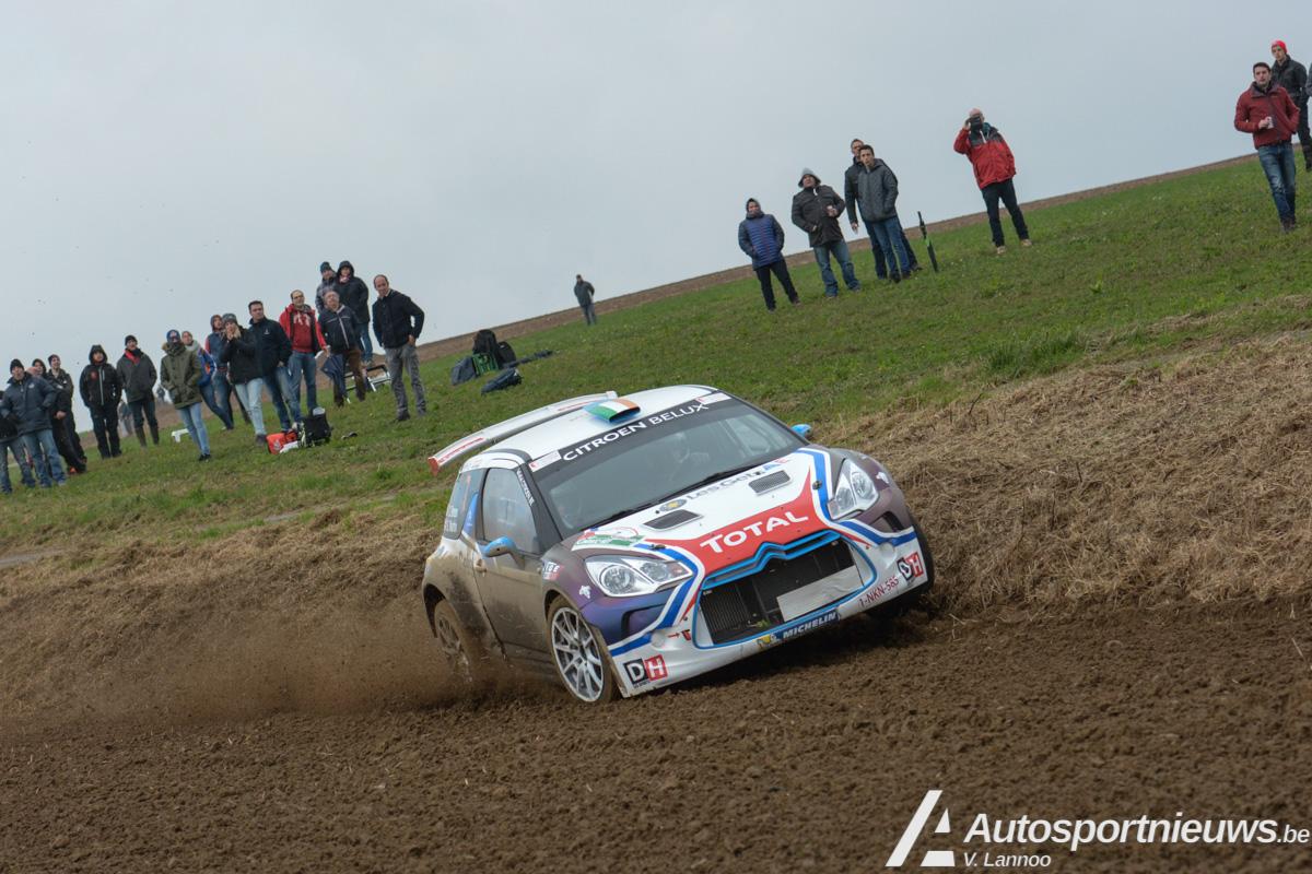 Dubbel feest voor Citroën Racing in 43ste editie van de Condroz Rally