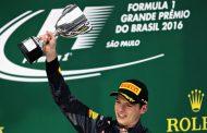 """Max Verstappen geeft met P3 rijles in Braziliaanse regen: """"Geweldig resultaat"""""""