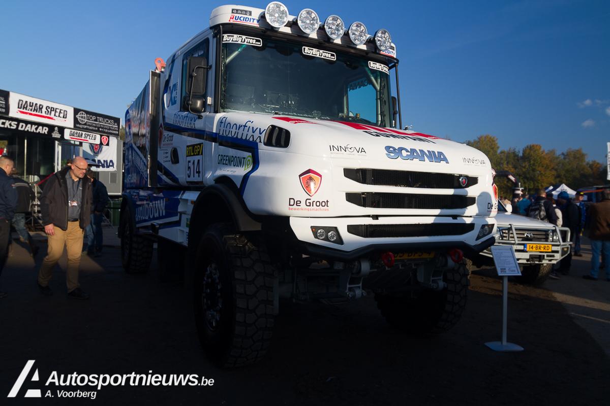 Geen kersdiner voor Dakarspeed monteurs