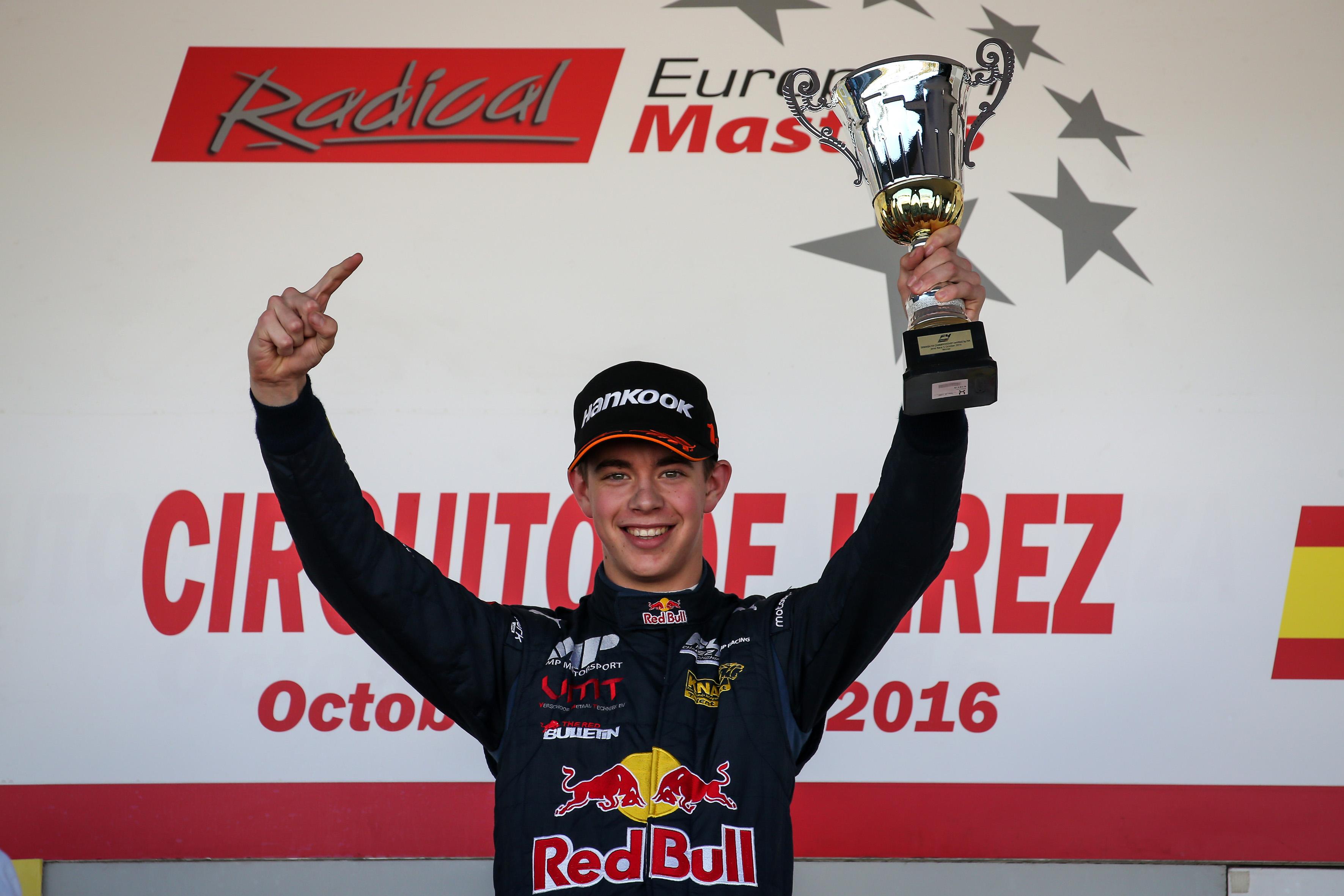 Red Bull-Junior Richard Verschoor naar Nieuw-Zeeland voor Toyota Racing Series