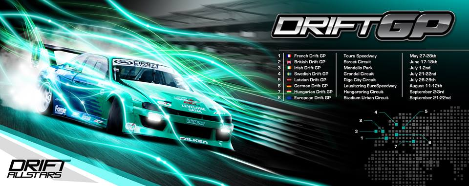 Drifting 4 holland aan start van 2017 seizoen Drift Allstars