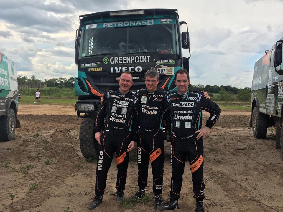 Team TonTrans bekijkt Dakar 2017 van dag tot dag