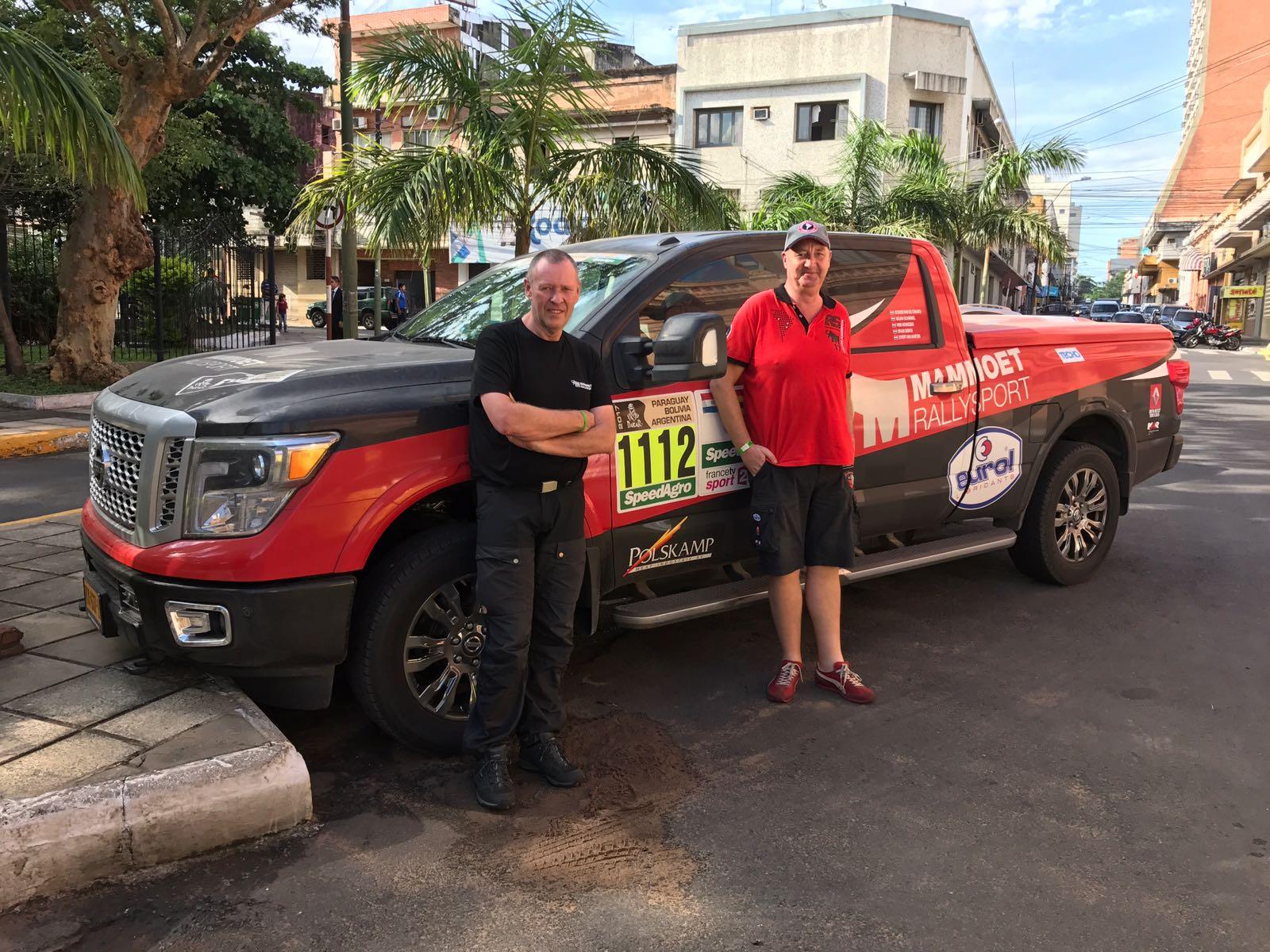 Mammoet rallysport: Mediateam Mammoet Rallysport klaar voor de start